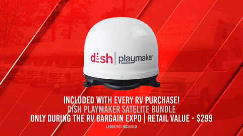 Dish Playmaker RV Bargain Expo Greyhound Extended