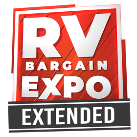 RV Bargain Expo Logo Extended Small
